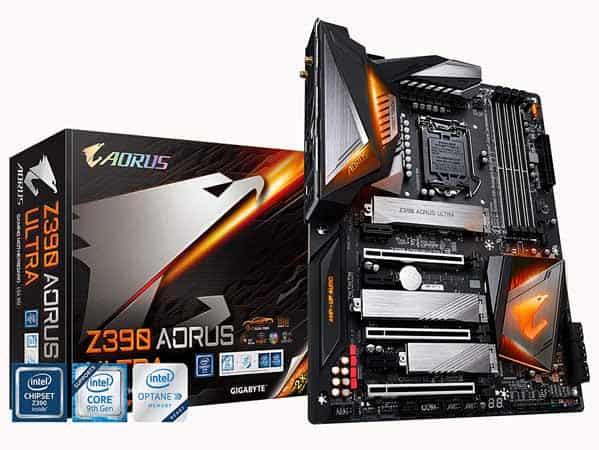 white z390 motherboard
