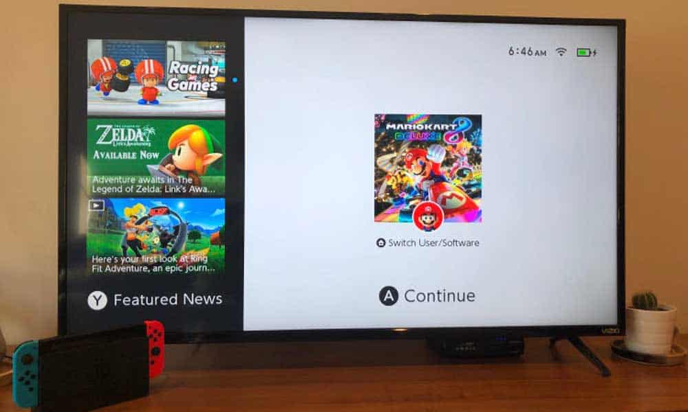 how to connect nintendo switch to tv